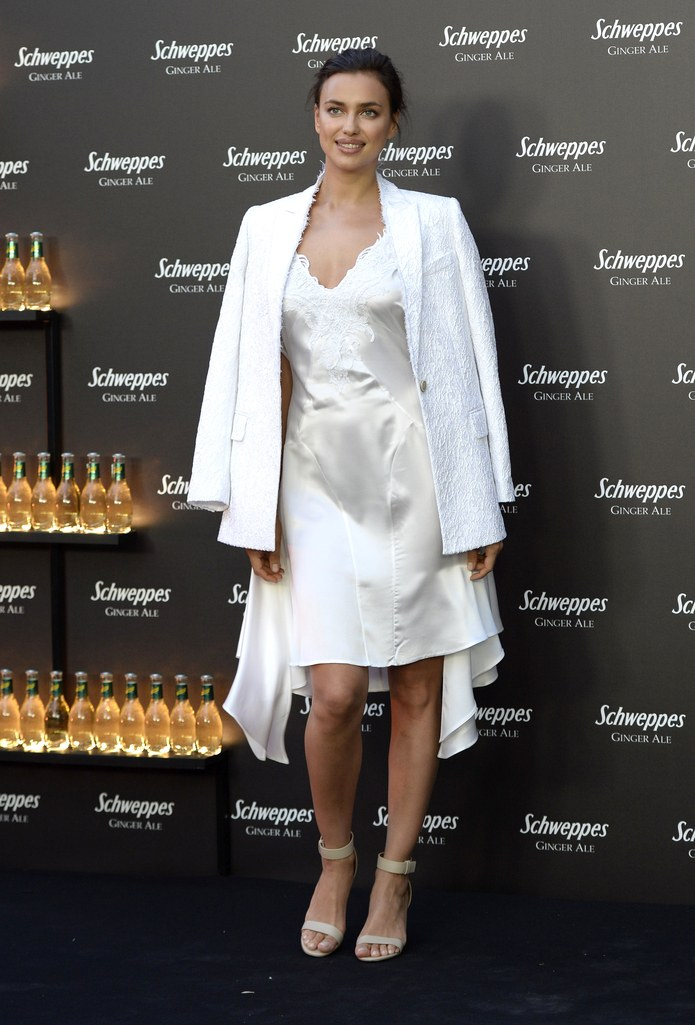 irina-shayk-white-slip-dress-blazer