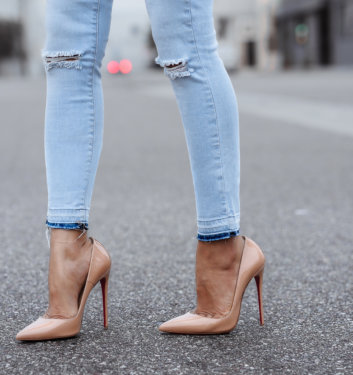 'A MUST HAVE' | NUDE PUMPS