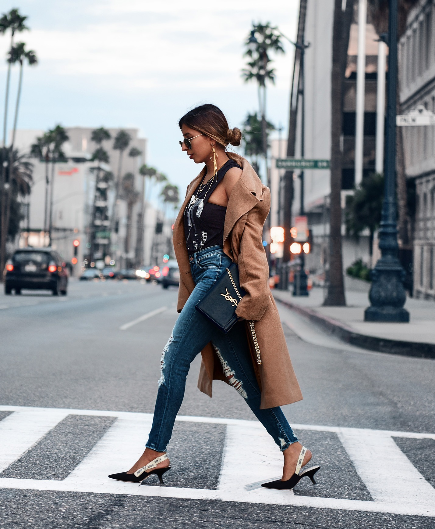 top camel coat