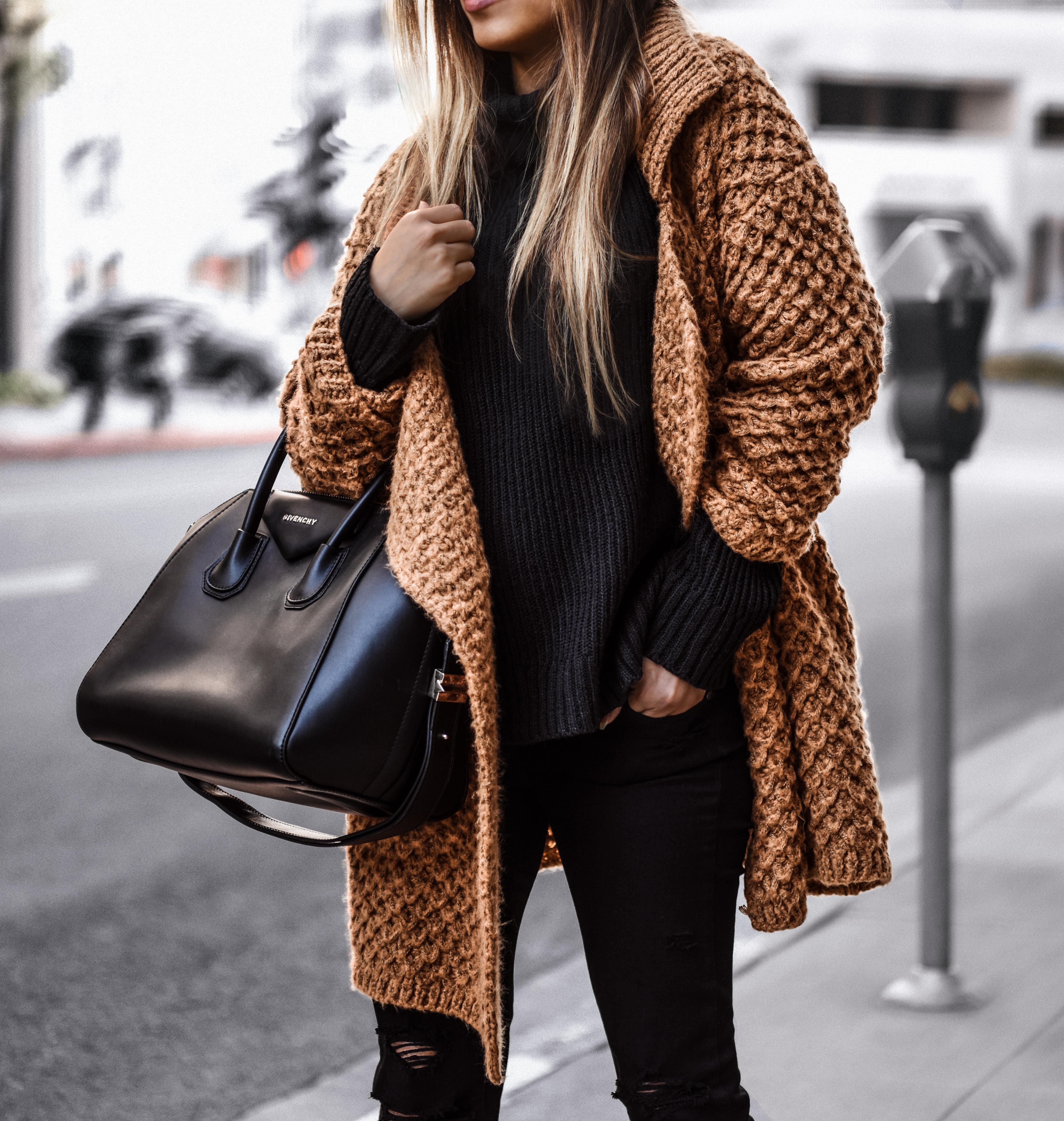 waffle knit sweater (3)