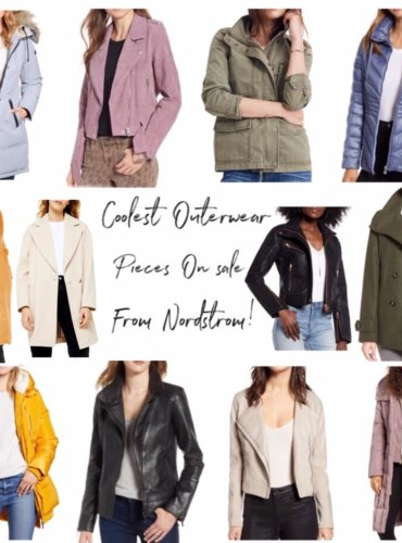 21 Coolest Outerwear Pieces On Sale From Nordstrom You Can't Miss!
