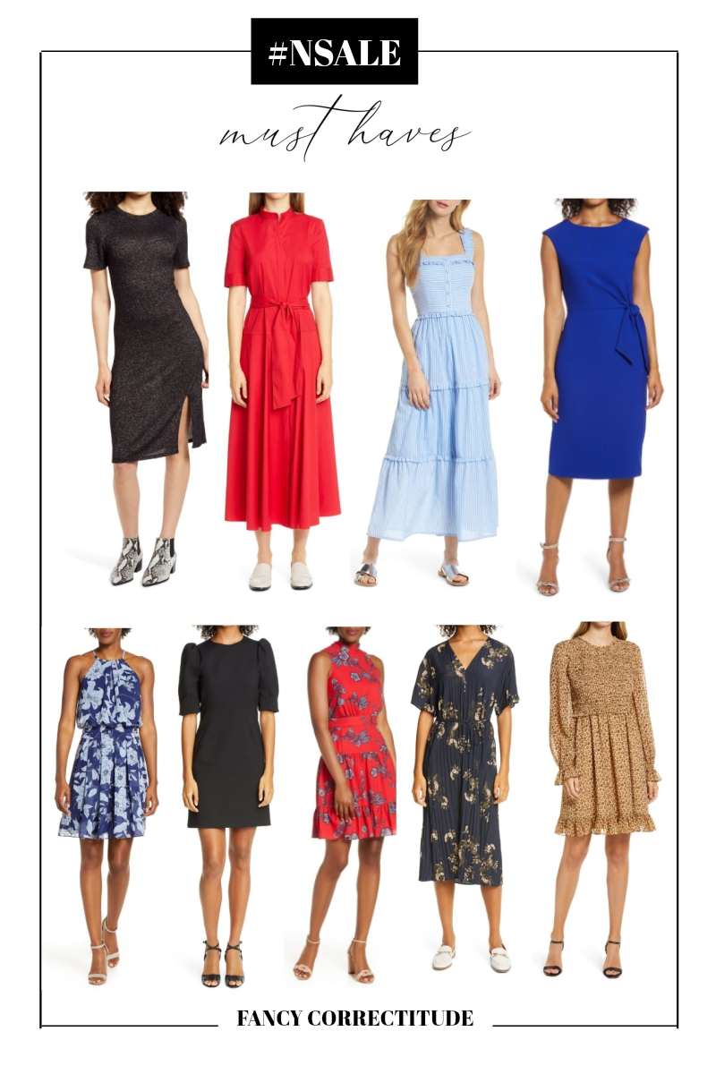 Picking perfect dresses is a tricky task. This is why we have Nordstrom Anniversary Sale! Check out stunning dresses we picked from the sale.
