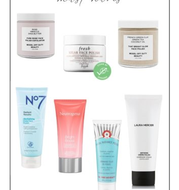 7 Best Face Scrubs & Exfoliators for Smooth, Glowing Skin