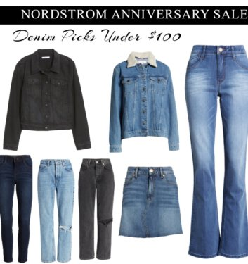 Top 10 denim picks from the Nordstrom Anniversary Sale | All under $100