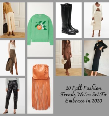 20 Fall Fashion Trends We're All Set To Embrace This Year