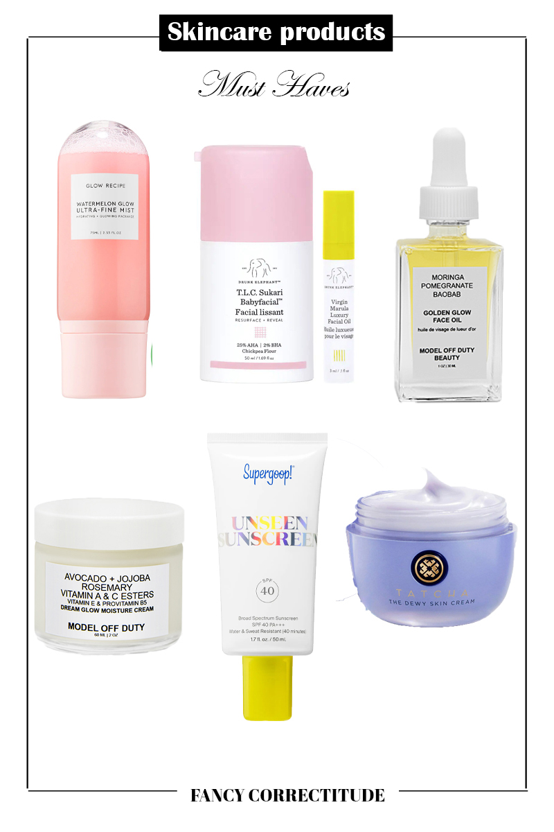 products for flawless skin