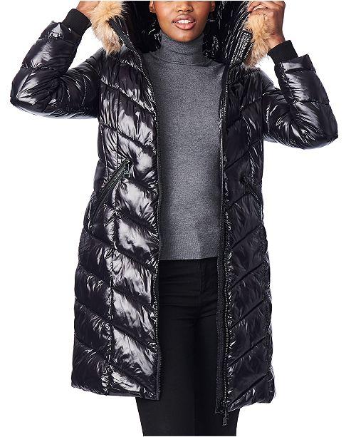 High Shine Puffer Coat
