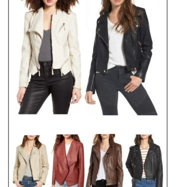 16 Hottest Biker Jackets For The Coolest Weather From Nordstrom – Must Have For Fall