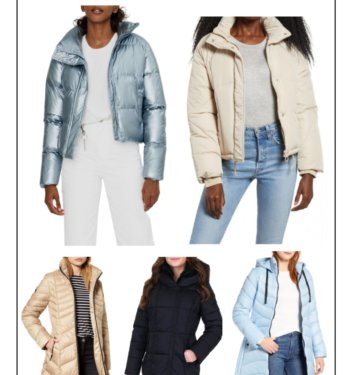 Fall Staple —11 New Puffer Jackets On Nordstrom This Fall