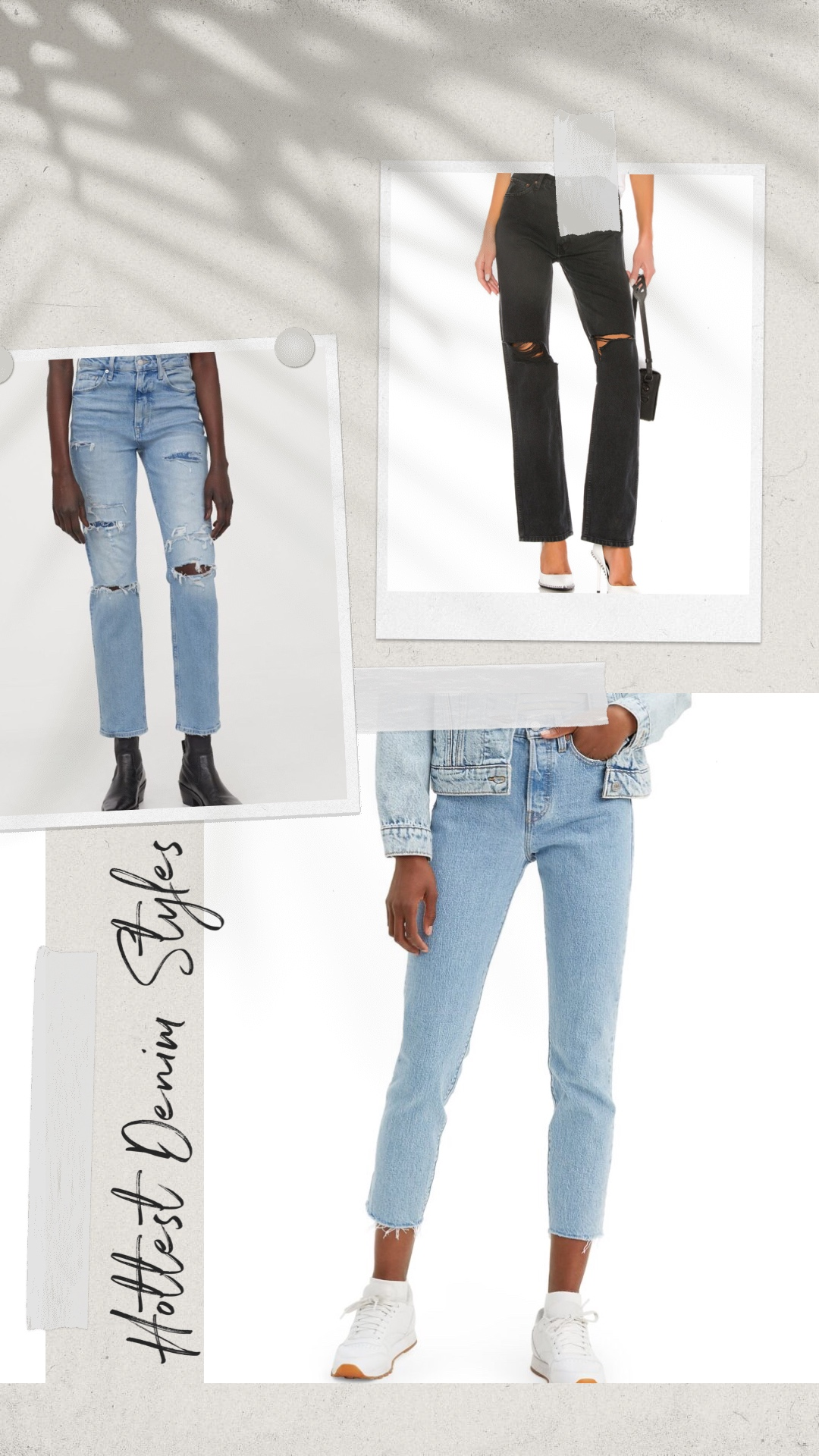 Coolest New Denim Styles  For 2021