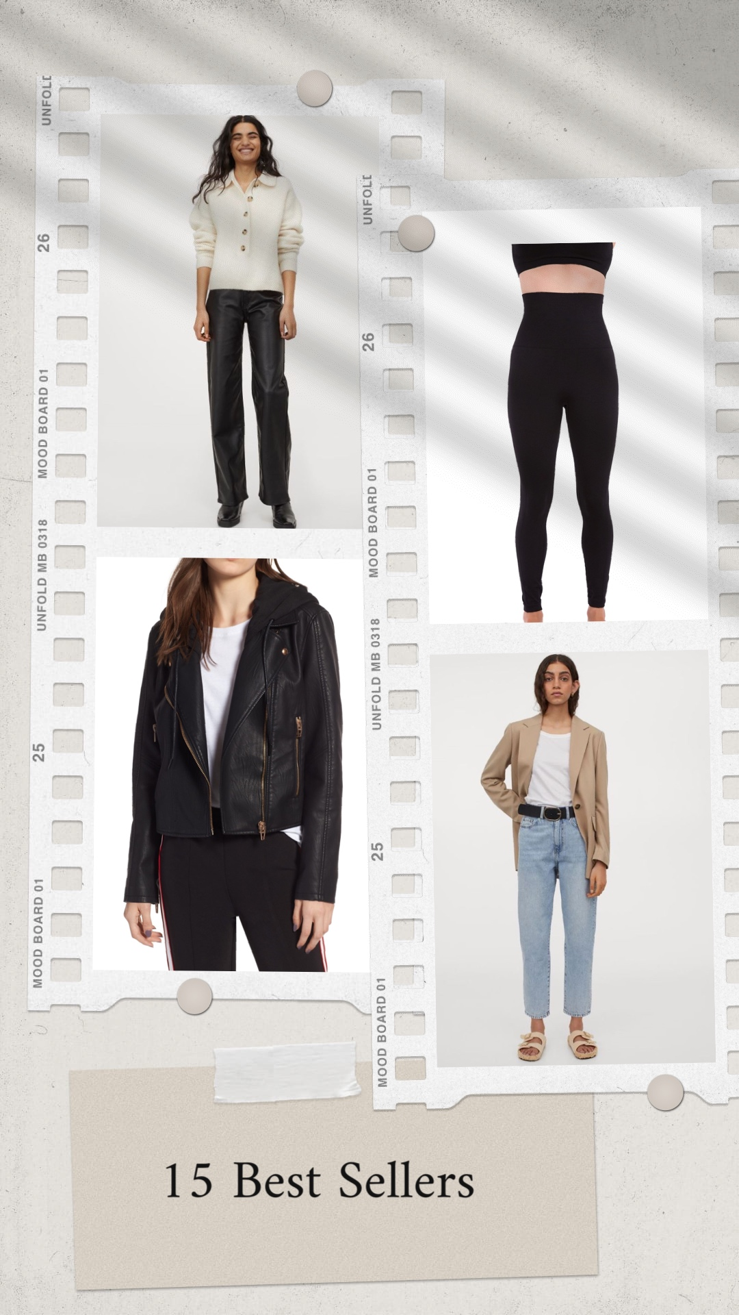 Best selling from Nordstrom and H&M