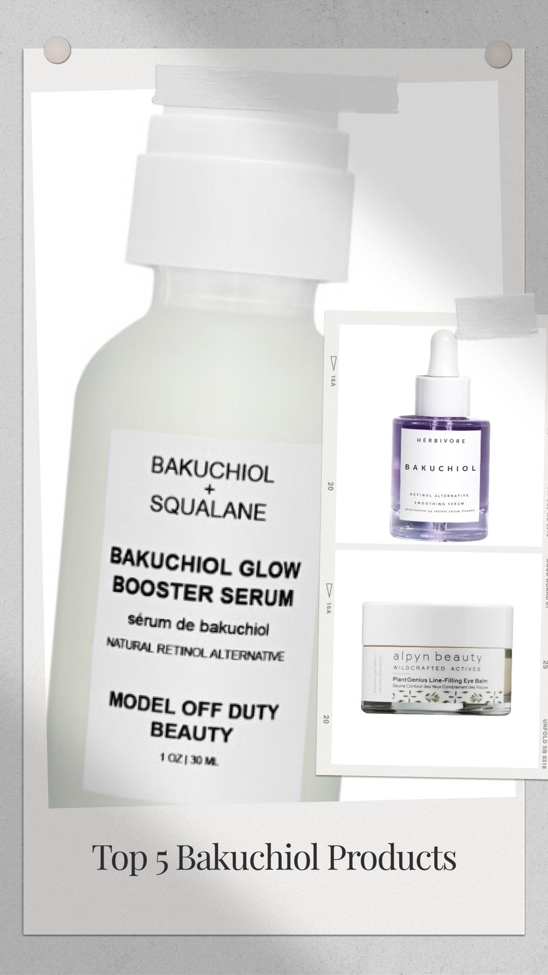bakuchiol skincare products