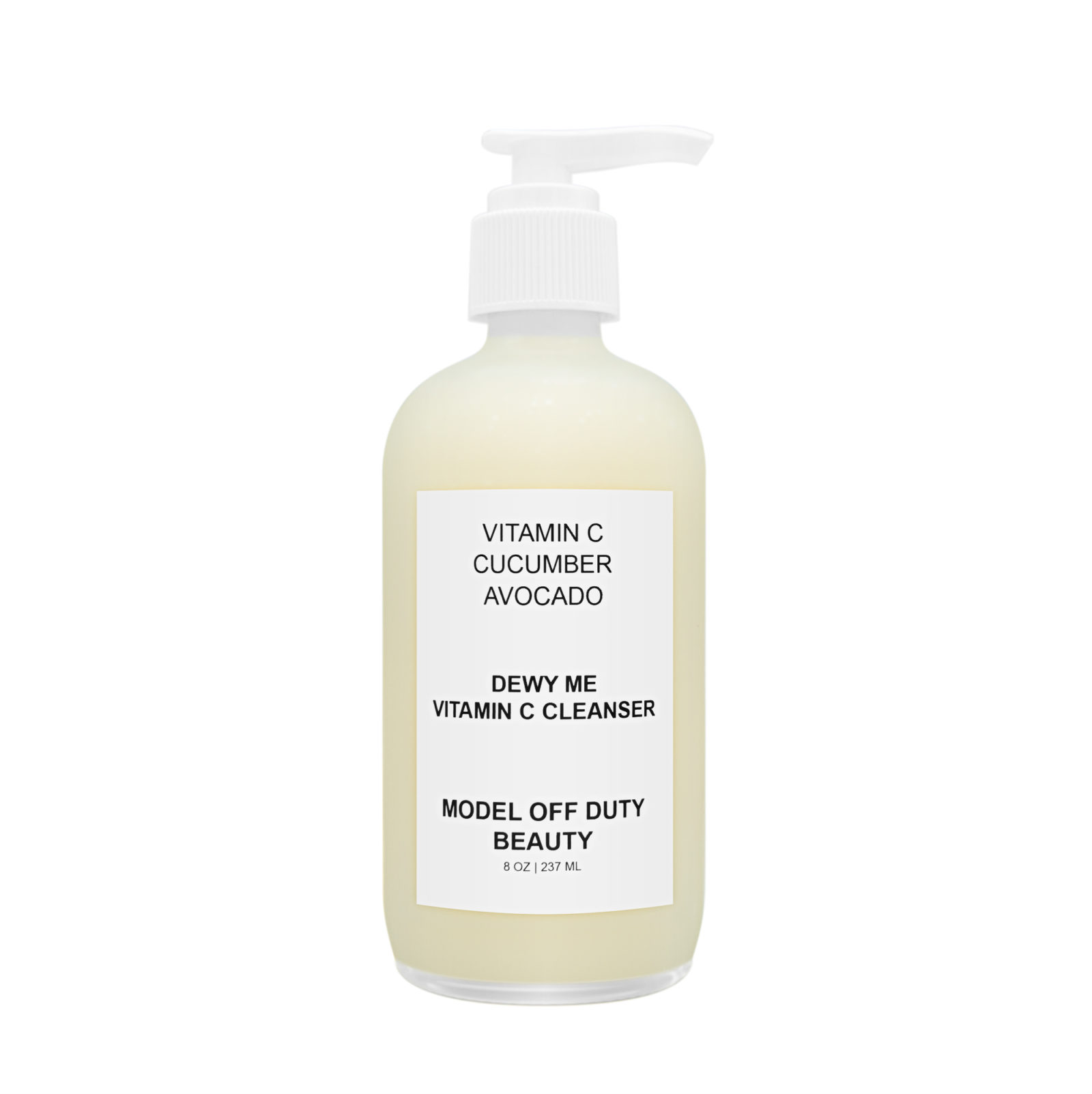 model off duty beauty vitamin c product for skin