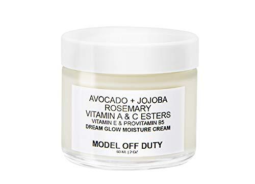 Model Off Duty Beauty moisturizer for combination skin