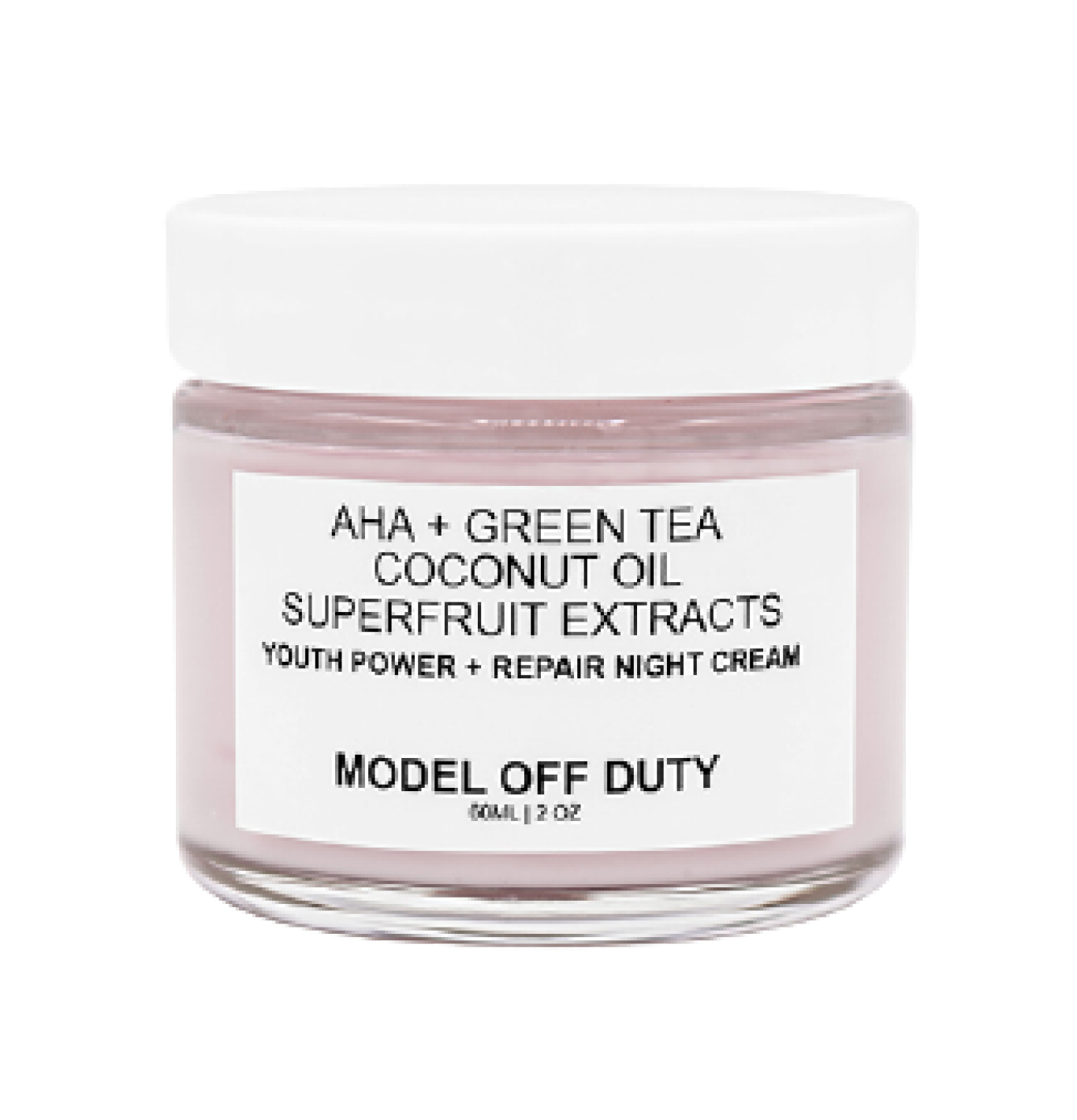 Model Off Duty Beauty soothing cream