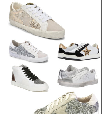 Statement Glitter Shoes That Are Cool & Eclectic