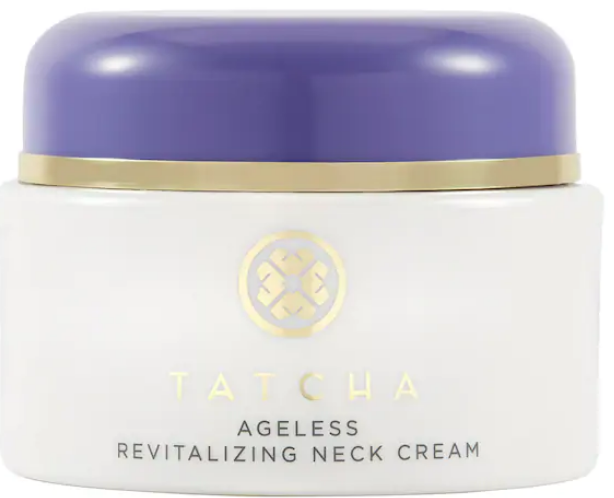 get rid of neck wrinkles with tatcha cream