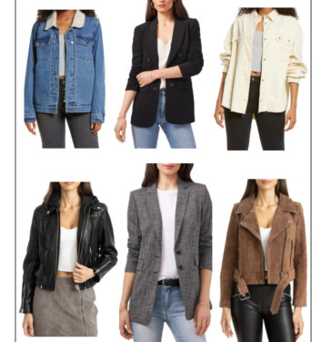15 Best-Selling Under $100 Coats, Jackets & Blazers From Nordstrom Anniversary Sale 2021