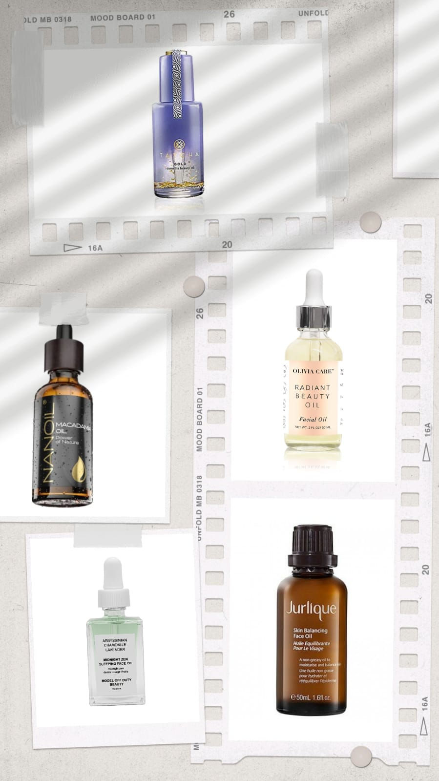best oils to use with face