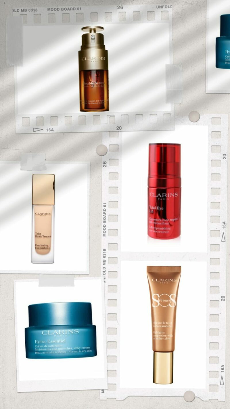 best Clarins products