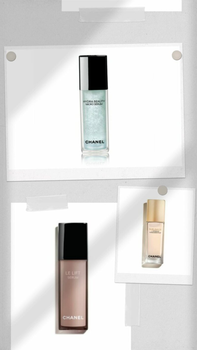best Chanel face serums